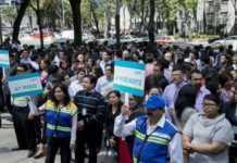Simulacro en la Ciudad de México.