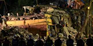 Asciende a 180 muertos por sismo en la CDMX