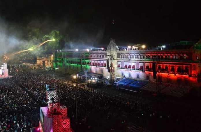 Artistas que se presentarán en el Zócalo capitalino el 15 de septiembre de 2017.