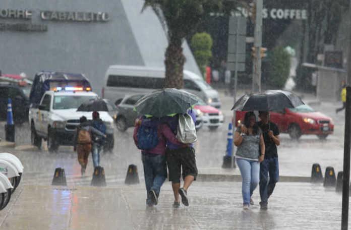 lluvia a la cdmx
