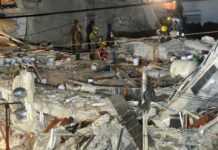 labores de rescate en la CDMX