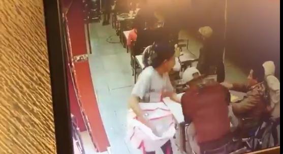 Asalto en un restaurante