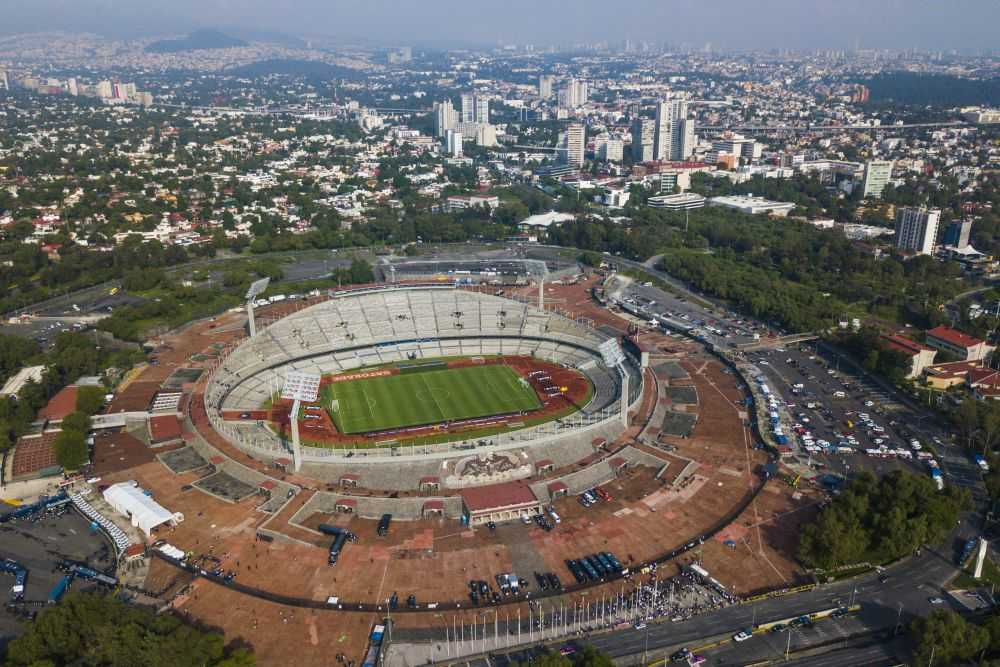 Carrera Atlética del Egresado Puma Estadio