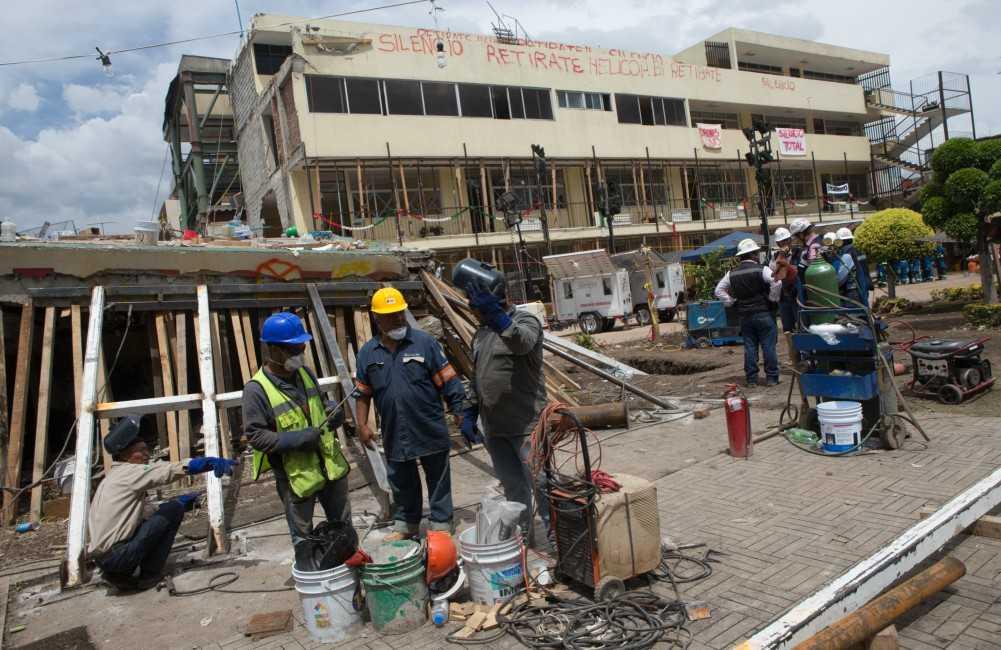 Departamento provocó derrumbe del Rébsamen en sismo: Peritajes