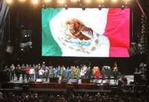 Concierto Estamos Unidos Mexicanos.