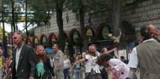 Feria de Chapultepec Zombies