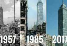 La Torre Latino ha sobrevivido a los sismos de 1957, 1985 y 2017.