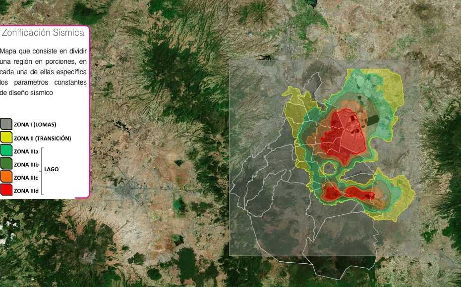 Hay 67 colonias ubicadas en zonas de riesgo sísmico