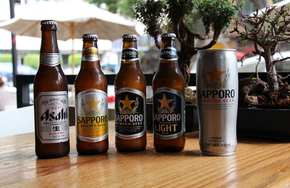 Cervezas Sapporo