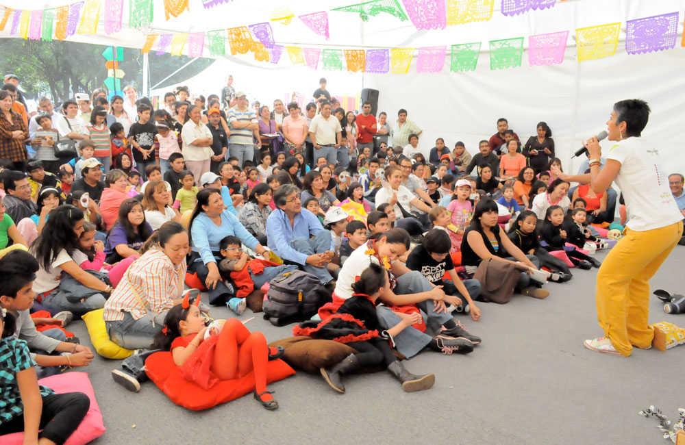 Festival de als calacas en el Cenart