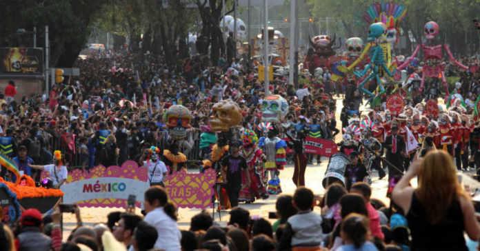 desfile de Día de Muertos 2017 en CDMX