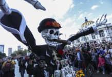 desfile monumental de día de muertos 2017