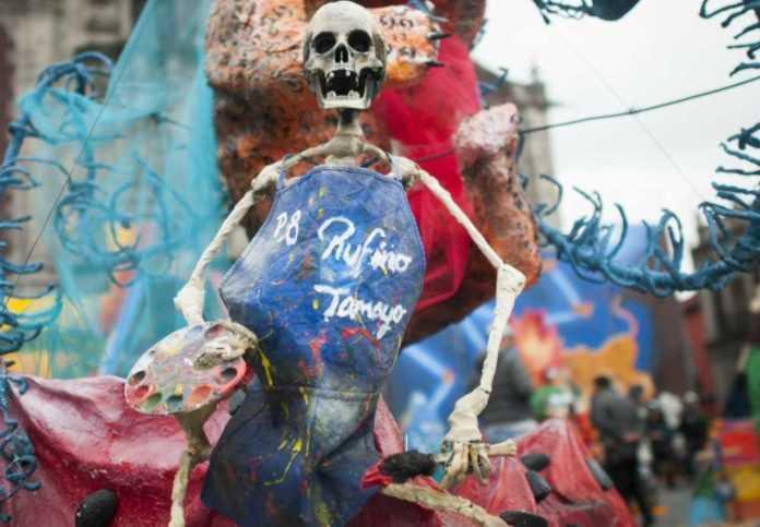 Día de Muertos en Santa María