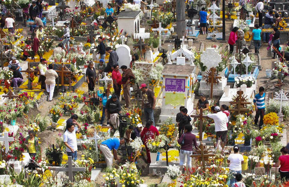 Mixquic, el mejor lugar para celebrar el Día de muertos