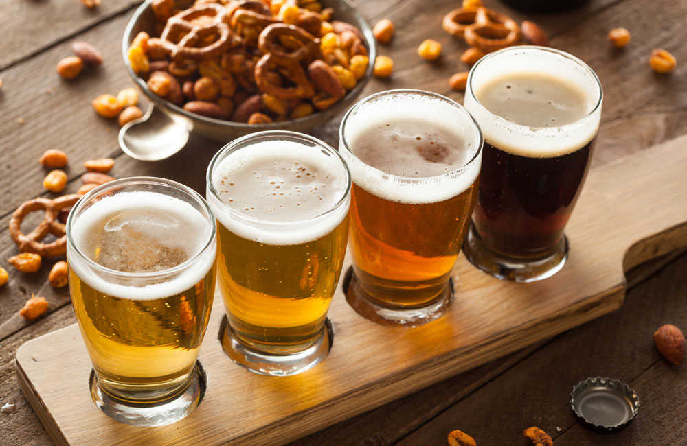 cerveza ambar y lager