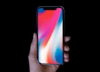 producción del iPhone x