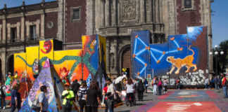 megaofrenda de la UNAM Diego Rivera