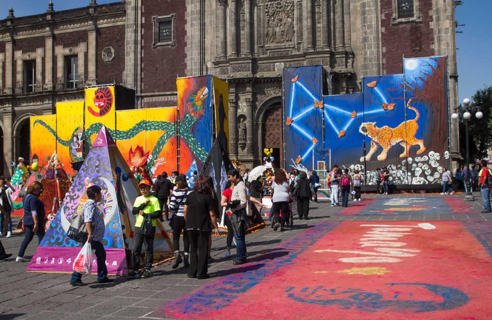 megaofrenda UNAM Diego Rivera