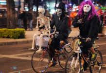 paseos en bicicleta dia de muertos