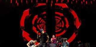 Concierto de Red Hot Chili Peppers.