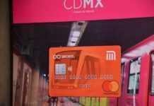 tarjeta de débito para el Metro