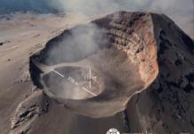 cráter del popocatépetl