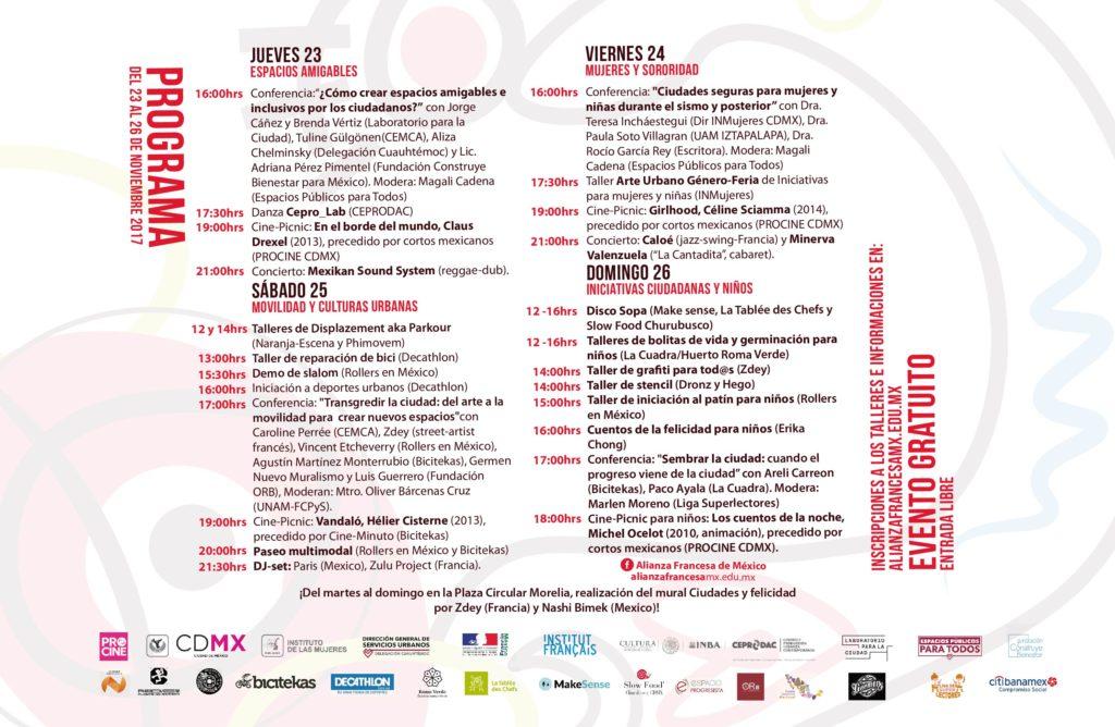 Festival Ciudades y Felicidad