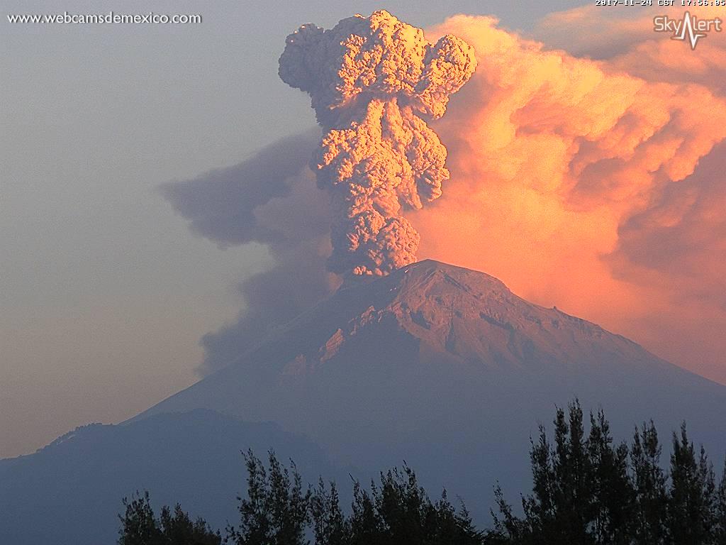 Popocatépetl entra en nueva fase amarilla