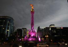 Suspenden visitas al mirador del Ángel de la Independencia hasta nuevo aviso.