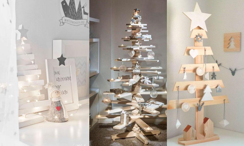 Arboles De Navidad Originales 10 Ideas Que Puedes Hacer Tu Mismo - Ideas-arboles-de-navidad