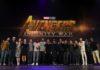 póster de avengers infinity war