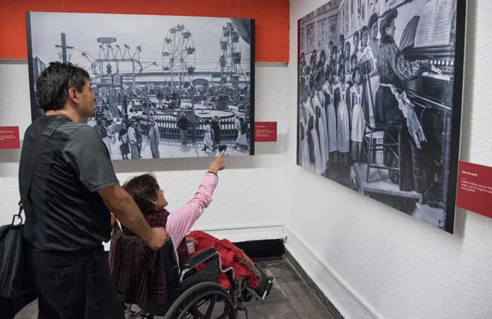 exposiciones en el metro