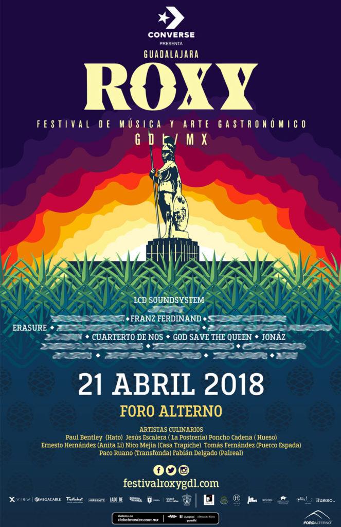 Cartel del Festival Roxy 2018