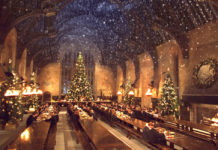 Cena al estilo Harry Potter