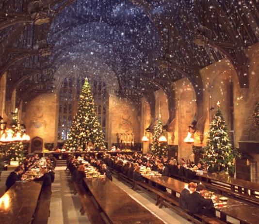 Cena al estilo Harry Potter