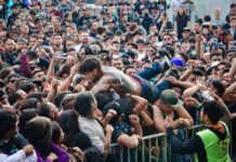 muerto en el knotfest 2017