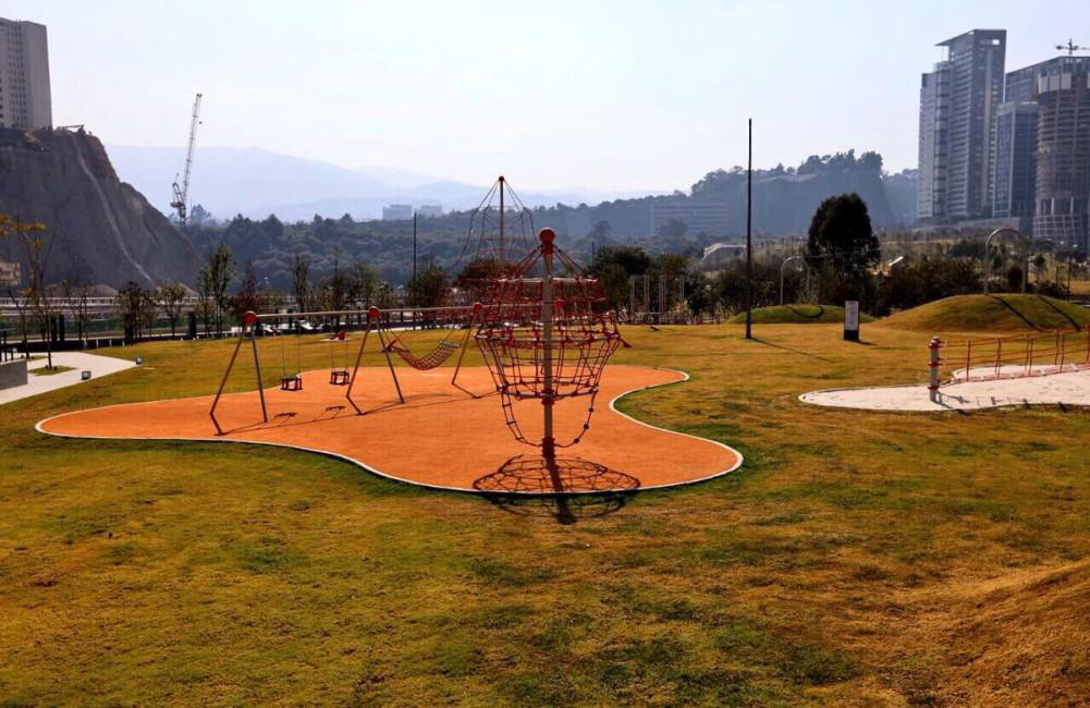 Échale un ojo al parque La Mexicana ubicado en Santa Fe