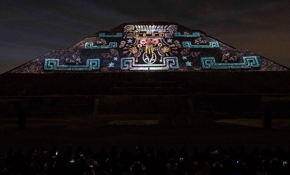 Luz y sonido en teotihuac n un espect culo imperdible for Espectaculo de luz y sonido en teotihuacan