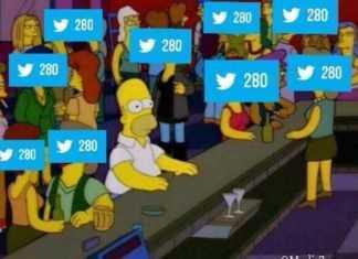280 caracteres de twitter