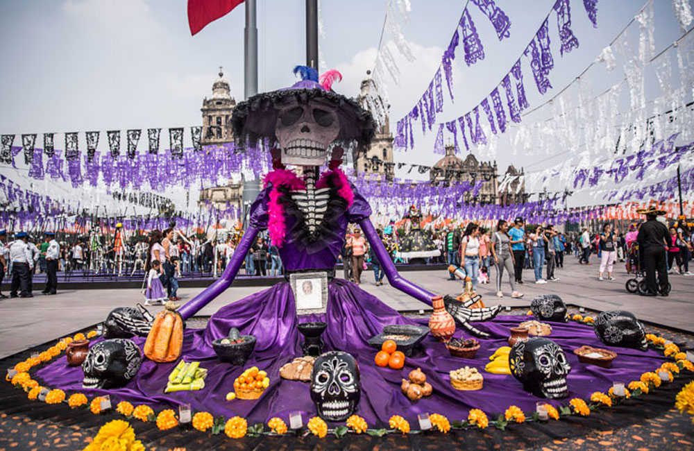 No habrá Ofrenda Monumental en el Zócalo, va el altar virtual