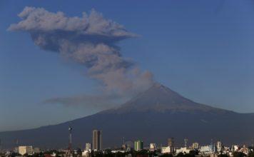 Este 23 de noviembre el Popocatépetl tuvo la actividad más grande desde hace cuatro años. El semáforo permanece en amarillo fase 2.