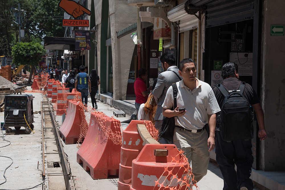 Zona Rosa Reconstrucción