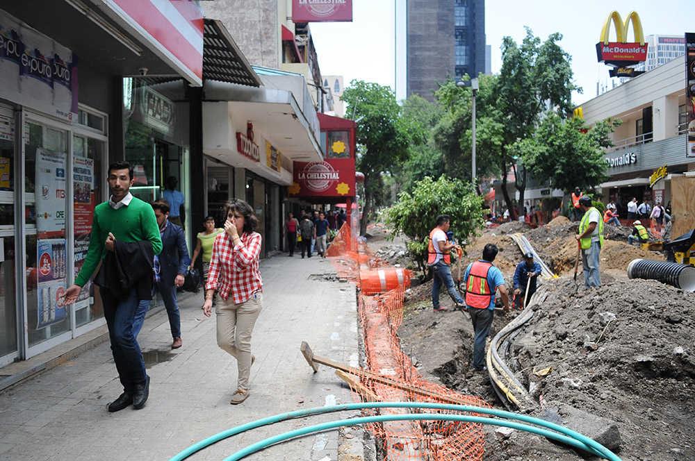 Zona Rosa Obras