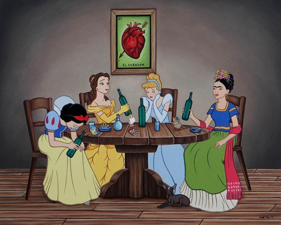 Frida Kahlo será una princesa Disney
