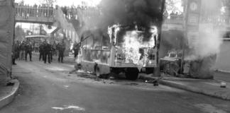 se incendia microbús