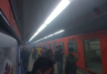 humo en la línea 7