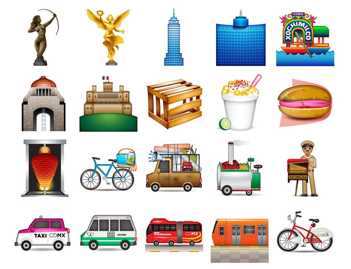 Ya puedes descargar los emojis de la CDMX