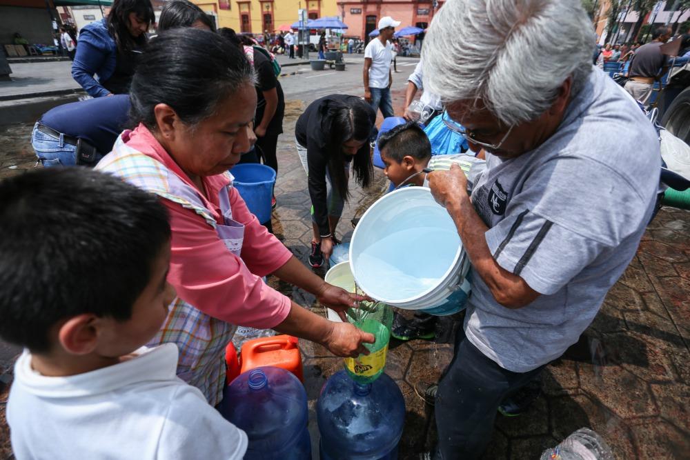 Fuga en Sistema Cutzamala afectará suministros en el Valle de México