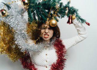 Árboles de Navidad chistosos