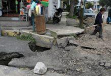 El drenaje en Tláhuac se vio severamente afectado por el sismo del 19 de septiembre. Para su reestructuración demolerán 200 inmuebles.